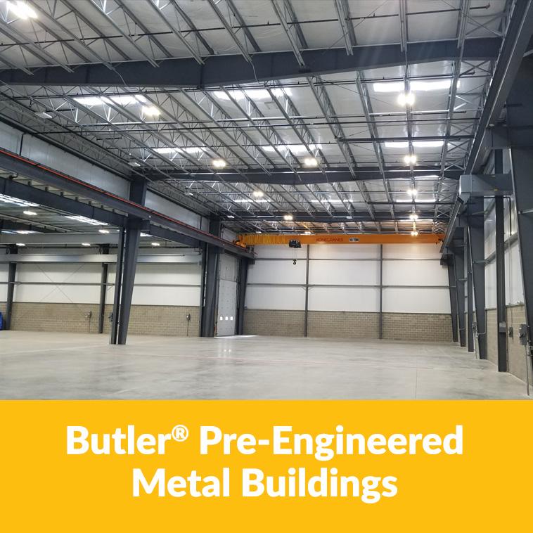 Butler Pre Engineered Metal Buildings Tile