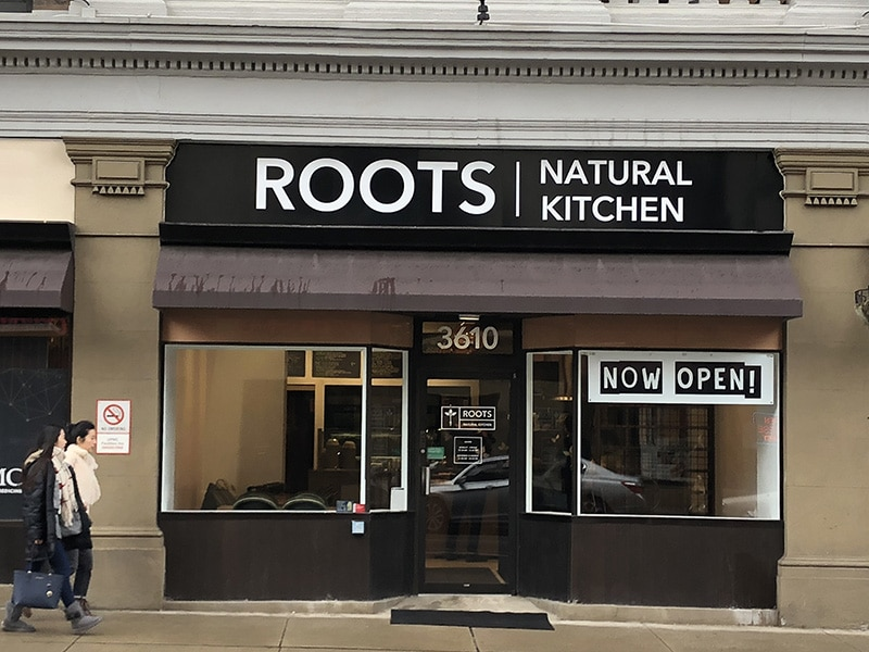 Roots Natural Kitchen - Guardian Construction Project